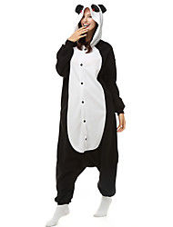 kigurumi Pyjamas Panda Collant/Combinaison Fête / Célébration Pyjamas Animale Halloween Vert Mosaïque Polaire Kigurumi Pour Unisexe