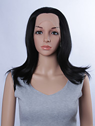 Fashion Synthetic Wigs Lace Front Wigs 14inch Straight Black Heat Resistant Hair Wigs Women