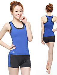 Running Bottoms / Clothing Sets/Suits / Shorts / Tank Women's Sleeveless Breathable / Quick Dry / Compression / Lightweight Materials