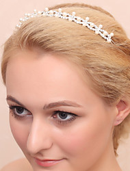 Women's Rhinestone Alloy Imitation Pearl Headpiece-Wedding Special Occasion Headbands 1 Piece