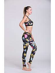 Running Bottoms / Clothing Sets/Suits / Bra / Pants Women's Sleeveless Sweat-wicking / Lightweight Materials Polyester / TeryleneYoga /