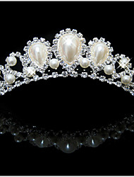 Lucky Doll Women's All Matching Vintage Elegant Imitation Pearl Silver Plated Hair Comb