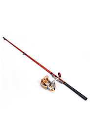 Fulang Fishing Pole with Carbon Handle for Boating Fishing 1.3m FP23