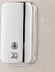 Дозатор для мыла Нержавеющая сталь Крепление на стену 180X110X65mm(7.1x4.3x2.5'') Нержавеющая сталь / Марочный ABS металл Современный