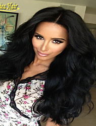 Full Lace Human Hair Wigs Brazilian Body Wave Lace Front Wigs Brazilian Hair Wigs Natural Color Full lace wig For Women