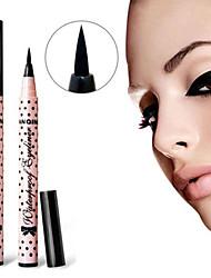 Eyeliner Liquide Longue Durée / Etanches / Naturel / Séchage rapide Noir Yeux 1 Others