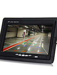 """7 """"TFT LCD monitor do carro de backup ir retrovisor reversa 9 levou câmera de visão noturna"""