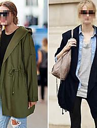 Peach John Women's  Casual Hoodie Long Sleeve  Coats