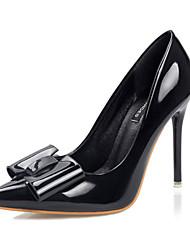 Women's Shoes Fleece Low Heel Heels / Peep Toe Heels Casual Black / Blue / Yellow / Green / Pink / Purple / White