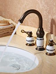Bathroom Sink Faucet with Antique Brass finish Antique design faucet