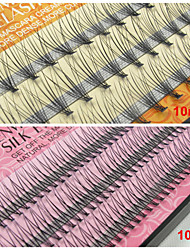 10mm False Eyelashes Extensions Natural Individual Fake Lash EyeLash Planting Grafting Eyelashes(Assorted Color)