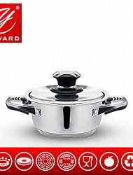 Yaward 16 centímetros panela estoque pot panela de sopa de aço inoxidável pequeno pote