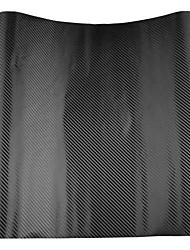 Fibra de carbono hoja de la película del abrigo del vinilo 3d para el capó techo
