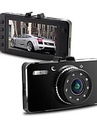 Car DVR 960*240 Novatek 96650 720P H.264 4X digital zoom G-Sensor loop Recording Motion Detection