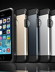 Para iPhone X iPhone 8 Funda iPhone 5 Carcasa Funda Antigolpes Cubierta Trasera Funda Armadura Suave Silicona para iPhone X iPhone 8 Plus