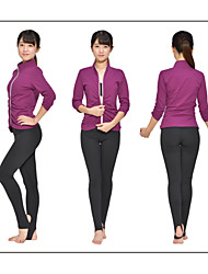 Iyoga ® Yoga Tops Yoga Tops Antistatic / Limits Bacteria / Sweat-wicking / Soft Stretchy Sports Wear Yoga Women's