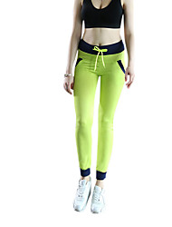 Running Pants / Tights Women's Quick Dry Chinlon Yoga / Fitness / Running Sports Indoor Spring / Summer / Autumn / Winter