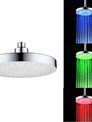 8 Inch RGB Color Temperature Control Universal Adapter LED Kitchen Sink Faucet Nozzl (Water Temperature Change)