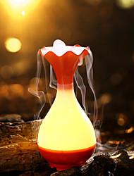 9.8 * 9.8 * 20.3cm 5v florero usb protección de energía inteligente mudo humidificador Mini aroma luz-luz de la noche llevó la lámpara