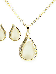 Women's Opal Necklaces and Stud sets