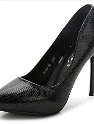 Women's Shoes Leatherette Stiletto Heel Heels / Pointed Toe Heels Office & Career / Party & Evening / High Heel Shoes