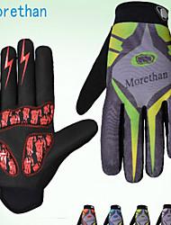 Glove Cycling / Bike Women's / Men's Full-finger Gloves Anti-skidding / Keep Warm / Waterproof / Wearable / Shockproof