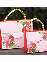 12 pièce / set titulaire de faveur - carte créative boîtes à cadeaux en papier non personnalisé 5.5 * 11 * 9cm