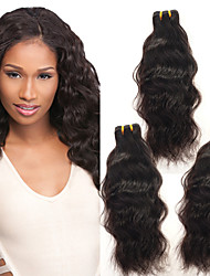 cheveux humains Anna vierges extensions de cheveux de vague naturelle brésiliens tisse brésiliens vague naturelle trames de cheveux 100g /