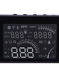 Новый 4 '' W03 автомобиля HUD головой вверх дисплей усталость вождения напомнить скорости предупреждение с obd2 интерфейс