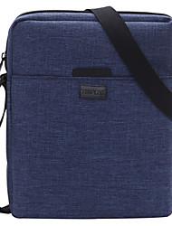 TINYAT Hot Men Women Leisure Sling Messenger Bag Portable Canvas Casual Sling Bag Two Colors Blue Orange T510
