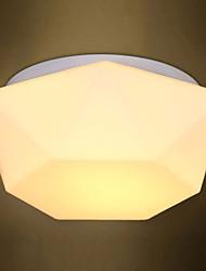 E27 220V 30*20CM 5-15㎡Creative White Diamond Glass Dome Light Absorb Led