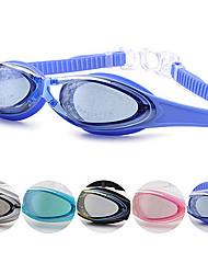 adultos anti-fog anti-uv óculos de prescrição de natação unisex óculos ajustáveis revestimento impermeável