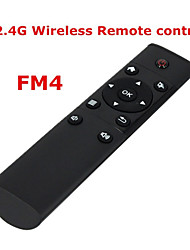FM4 2.4ghz mosca mouse wireless aria tastiera di controllo a distanza per contenitore di android TV