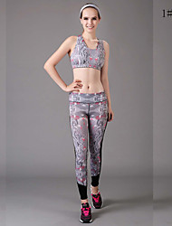 Women's Fashion Digital Print Pattern  Stretch Leggings