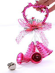 "12.6 ""christmas sonnerie Jingle Bell pendentif en or"