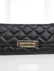 VUITTON® Women PU Tri-fold Clutch / Wallet / Checkbook Wallet - Gold / Red / Silver / Black