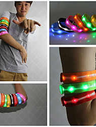 LED Outdoor Sports Wristband Cycling Running Wristband