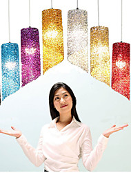 Single Head Cylindrical Round long Aluminum Cylinder Creative Personality lamps