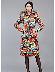 Manteaux & Vestes ( Polyester / Viscose ) Bodycon / Informel / Soirée / Travail Support à Manches longues pour Femme