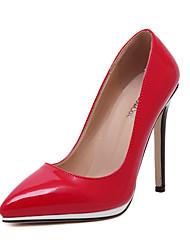 Stiletto - 10-12cm - Damenschuhe - Pumps/Heels ( PU , Schwarz / Rot / Weiß )