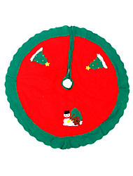 The Christmas tree decorations apron The tree skirt