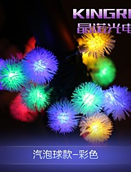 rei ro 6,5 milhões 20led luzes da corda solares esfera fantasia lâmpada shaple casamento multa luzes cadeia