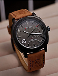 Luxury Brand Quartz Watch Casual Fashion Leather Watches Men Watch Free Shipping Sports Watches Wrist Watch Cool Watch Unique Watch