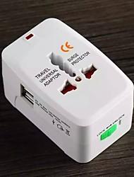 по всему миру универсальный адаптер розетка многофункциональный одинарной и двойной USB конвертер розетка поездки за границу