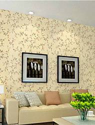 Spray Floral Flowers Classical Wallpaper Wall Covering PVC Wall Paper 5*0.6 M For Hall/Bedroom/Kids Room/Dining Room
