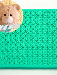 Frand текстура зерно печать выпечка DIY силикон шоколад сахар торт плесень цвет случайный