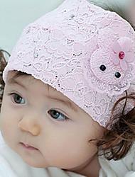 Kid's Lace Rabbit Pattern with Hair Elastic Headband