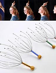 cabeça Massagers Manual Acupressão Promove circulação sanguínea na cabeça / Estimula a reciclagem de sangue Conversão de Frequência