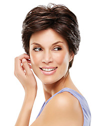 Wigs For Sale Short Straight Hand Tied Top Human Virgin Remy Hair Wig for Woman