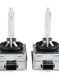 2 X 35W D1S Car HID Xenon Headlight Light Lamp Bulbs 6000K DC 12V